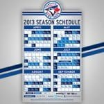 Apr 2 Toronto Blue Jays vs. Cleveland Indians – Magnet Schedule