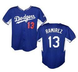 Dodgers Hanley Ramirez Replica Jersey 4 27 2014 cedfd67ac06