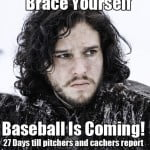 is coming Here are the just officially announced pitchers and catchers
