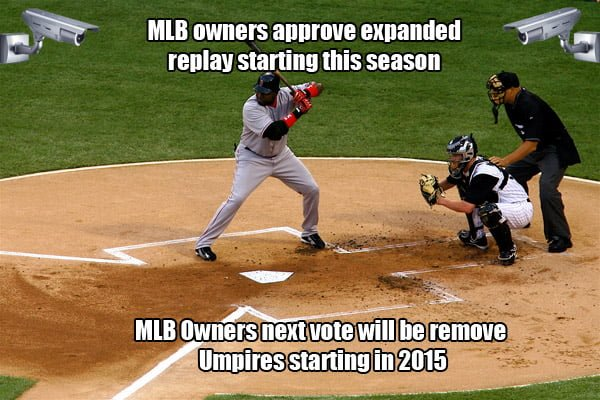 mlb owners approve expanded replay