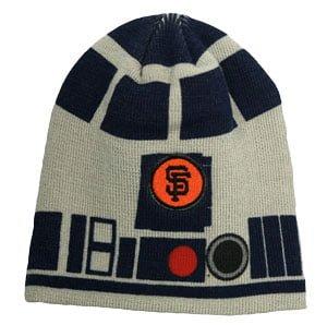 Gaints Star Wars Day - R2D2 Beanie 8-31-2014