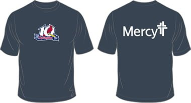 Springfield Cardinals Mercy Coal Dry Fit