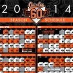 Baltimore Orioles Schedule 2014