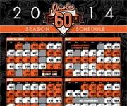 2015 Baltimore Orioles Schedule
