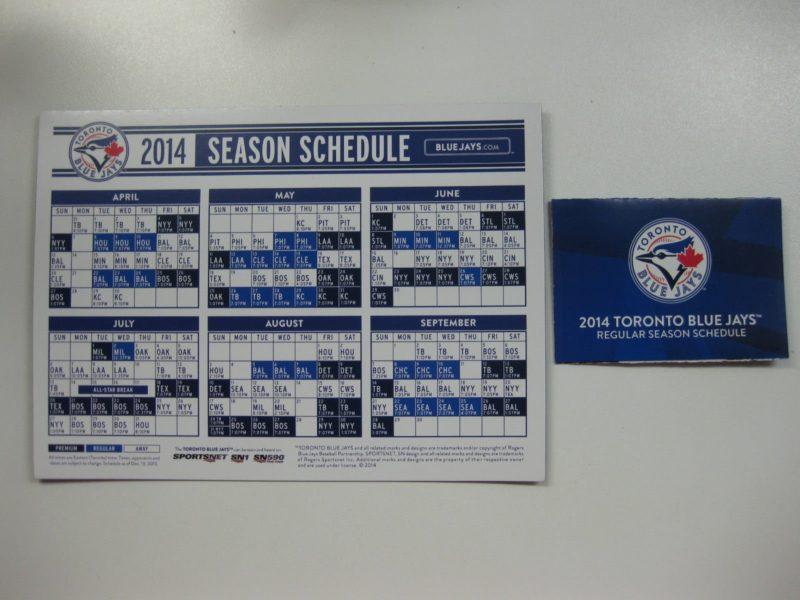 image regarding New York Yankees Printable Schedule known as April 5-6 , 2014 Fresh York Yankees vs. Toronto Blue Jays