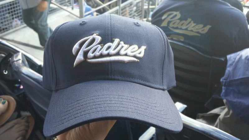 San Diego Padres_opening day hat_4-1-14