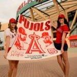 April 15, 2014 Oakland Athletics vs. Los Angeles Angels – Albert Pujols Blanket