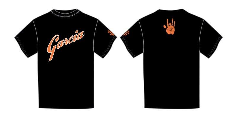 Gaints garcia_promo tshirt 8-7-2014
