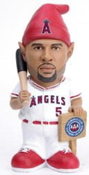 los angeles angels pujols gnome promo 5 20 14 May 20, 2014 Houston Astros vs Los Angeles Angels Albert Pujols Gnome