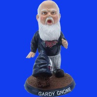 Twins gardy gnome 06 07 2014 June 7, 2014 Houston Astros vs Minnesota Twins Gardy Gnome