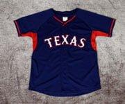 taxas ranger Elvis Andrus Batting Practice Kids Jersey-06-27-2014