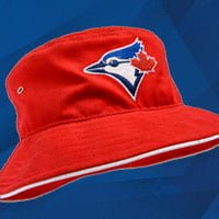 6fc254c95c1 Red Blue Jays Bucket Hat presented by Honda