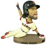 July 13, 2014 Arizona Diamondbacks vs San Francisco Giants – Angel Pagan Bobblehead