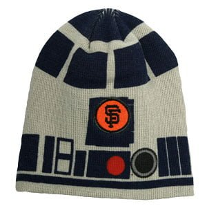 Gaints Star Wars Day - R2D2 Beanie 8-31-2014