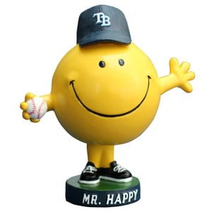 Tamps Bay Rays _08-17-14-mrHappy Bobblehead