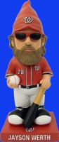Washington Nationals werth gnome 8 05 14 August 5, 2014 New York Mets vs Washington Nationals Jayson Werth Garden Gnome