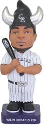 colorado rockies baby bull gnome 90715 September 7, 2014 San Diego Padres vs Colorado Rockies Baby Bull Bobblehead Gnome