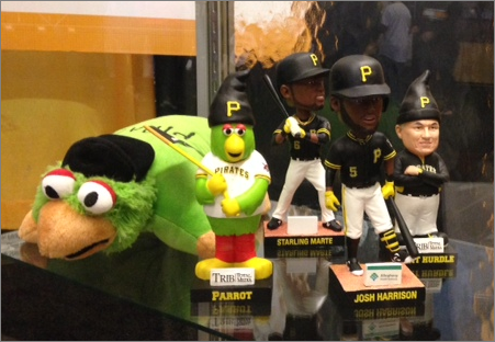 2015 pirates bobbles