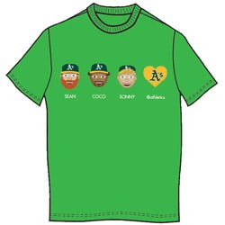 Oakland Athletics_A-Moji T-shirt_4-25-2015