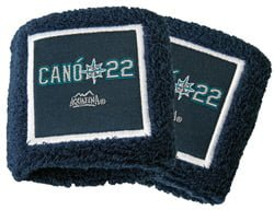 Seattle Mariners_Robinson Cano Wristbands_5-10-15