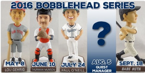 Bridgeport Bluefish Bobbleheads