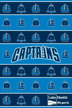 Lake County Captains_Fleece Blanket_4-14-15