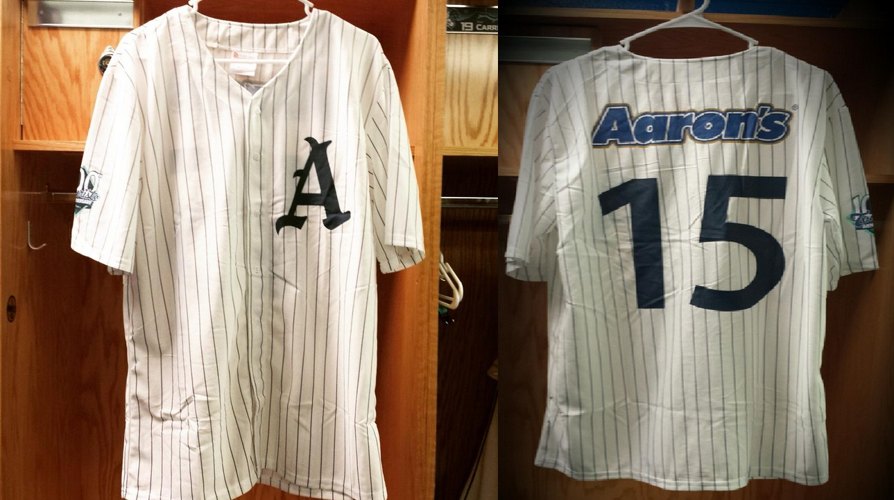 1915 replica jersey - ashville tourists