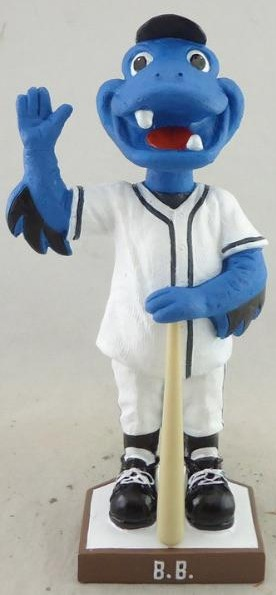 B.B Bobblehead - Bridgeport Bluefish - Atlantic Professional Baseball
