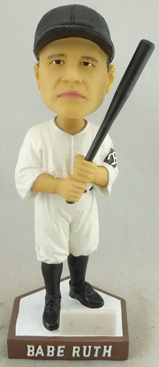 Babe Ruth Bobblehead - Bowie Baysox - Baltomire Orioles