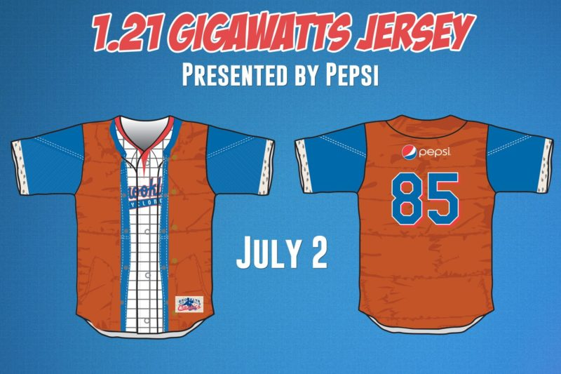 Back To the Future Jersey - Brooklyn Cyclones - Mets
