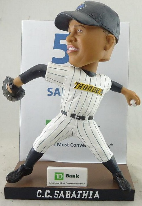 C.C Sabathia Bobblehead - Trenton Thunder - New York Yankees (2)