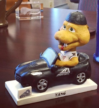 Fang bobblehead - timber rattlers - milwaukee brewers (2)