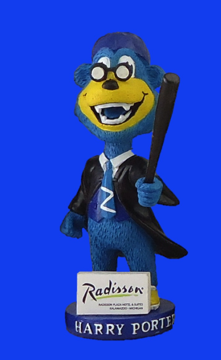 Harry-Porter Bobblehead - Kalamazoo Growlers