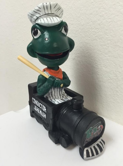 Jeremiah Conductor Bobblehead - Green Bay Bullfrogs - Northwoods League