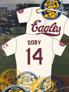 Larry Doby Negro League Replica Jersey - Charleston Riverdogs - NY Yankees