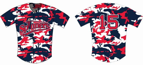 Lowell Spinners - Military Replica Jersey - Boston Redsox