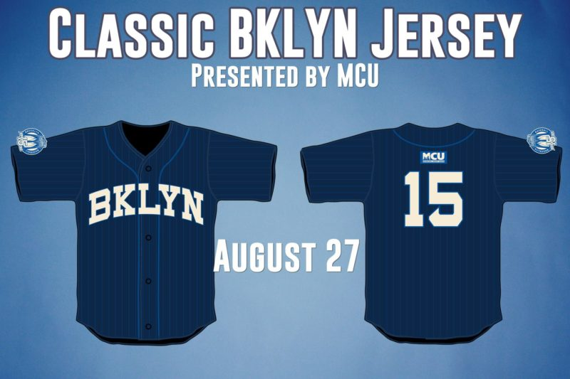 MCU Jersey - Brooklyn Cyclones - Mets