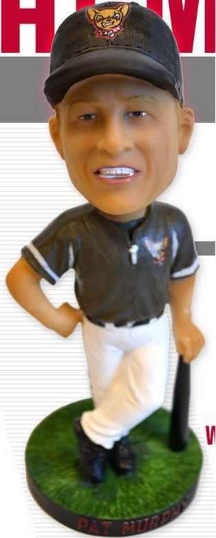 Pat Murphy Bobblehead - El Paso Chihuahuas - San Diego Padres