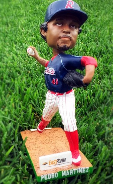 Pedro Martinez Bobblehead - Reading Phillies - Philadelphia Phillies