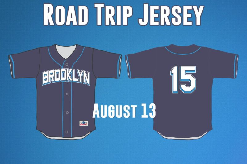Road Trip Jersey - Brooklyn Cyclones - Mets