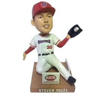 Steven Souza Jr Bobblehead - Harrisburg Senators - Washington Nationals