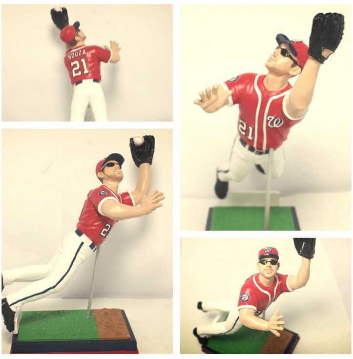 Steven Souza Jr.The Catch Figurine - Potomac Nationals