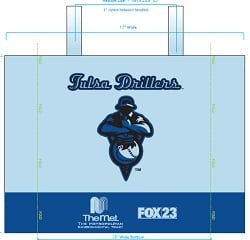 Tulsa Drillers_Reusable Drillers Bag_4-23-15