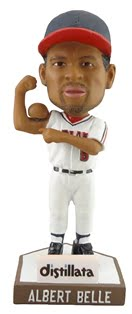 albert belle bobble bicep - akron rubber ducks - cleveland indians
