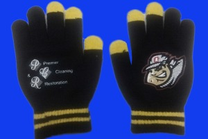 altoona curve texting gloves - pittsburgh pirates - april 17, 2015
