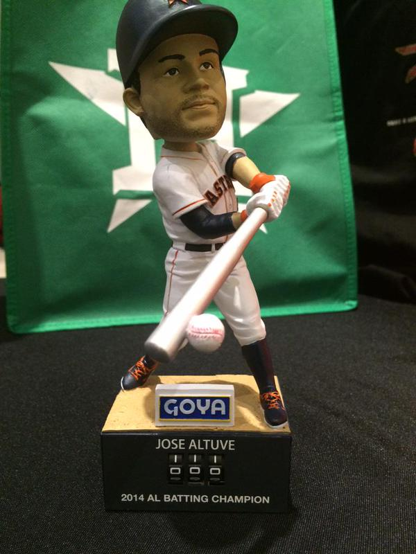 altuve hit counter bobblehead - astros