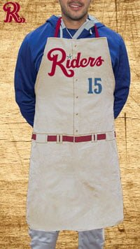 bbq apron - frisco roughriders - texas rangers