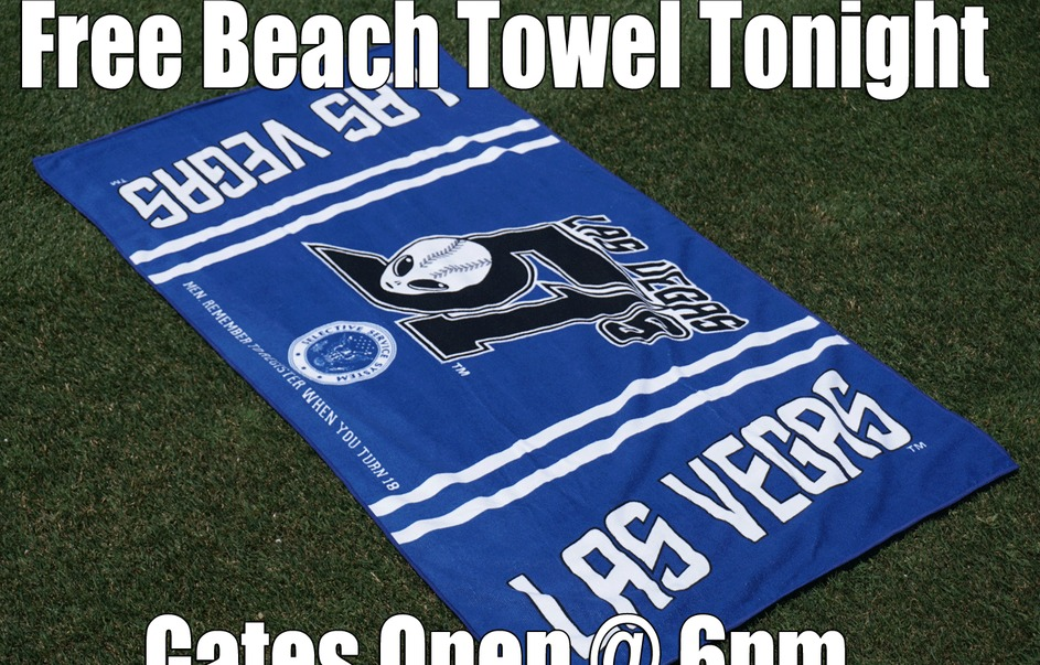 beach towel - las vegas 51s - new york mets
