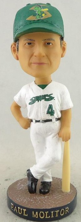 benoit snappers - paul molitor bobblehead