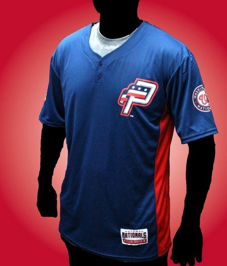 blue jersey - potomac nationals - washington nationals (2)